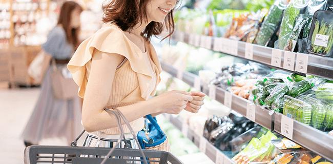 スーパーやデパートにいる30代