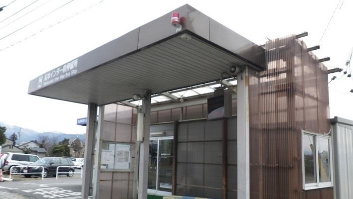 松本インター前待合所
