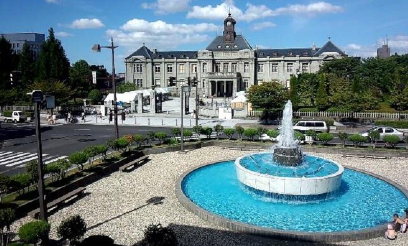 県民会館噴水